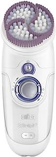 Braun Silk-épil 7 7921 Skin Spa - Depiladora utilizable bajo el agua, recargable, con cabezal exfoliante de la piel