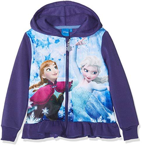 Disney Frozen Mädchen Frozen Sweatshirt, Lila (violett 19-3842tc), 8 Jahre