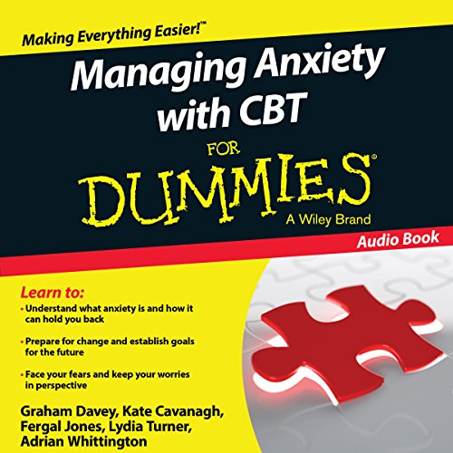 『Managing Anxiety with CBT for Dummies』のカバーアート