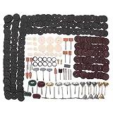 HYY-YY Industrielle Schleifmittel, 342-teiliges Multi-Rotary Power Drill Kit Polieren Schleifen Schleifen Rotary Tool Zubehör Schleifwerkzeug