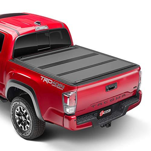 BAK BAKFlip MX4 Hard Folding Truck 5' Bed Tonneau Cover | 448426 | Fits 2016-20 Toyota Tacoma 60.5 Bed