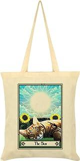 Deadly Tarot Felis - The Sun Tote Bag Cream 38 x 42cm