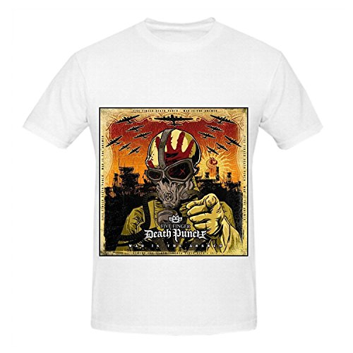 Five Finger Death Punch War Is The Answer Men O Neck Cool Tee
