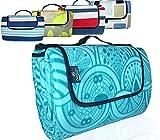ANJ Outdoors XXLarge/Large Premium 3-Layer Picnic Blanket