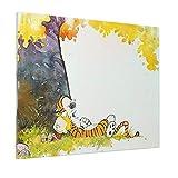 Calvin und Hobbes Original Art Gemälde Leinwand Wandkunst
