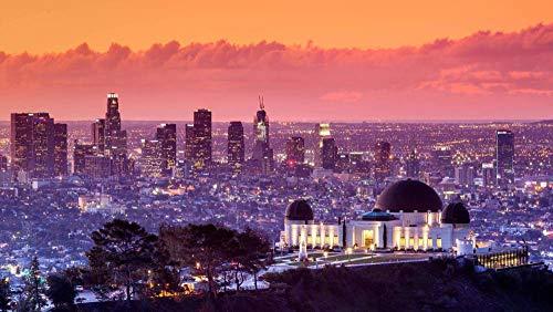 Observatorio Griffith, Los Ángeles, California, Estados Unidos, Rompecabezas De 1000 Piezas Puzzle Juguete De Madera (75 * 50 Cm)