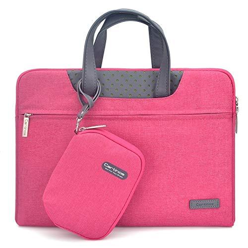 JINXIUCASE Laptop Briefcase Protective Bag Computer Case for Huawei MateBook D 15 D15 2020 2019 (Color : Rose)