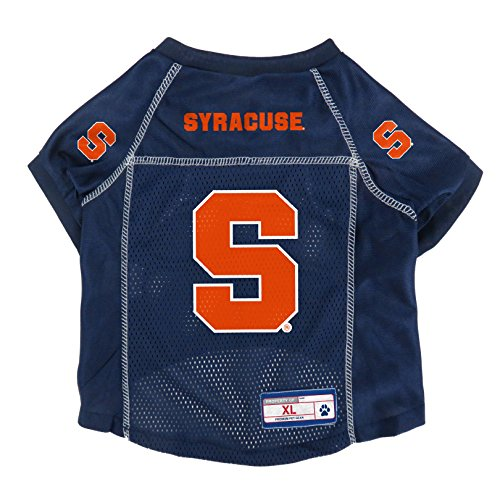Little Earth NCAA Syracuse Orange Pet Jersey, Small