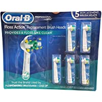 5-Count Oral B Floss Action Replacement Brush Heads