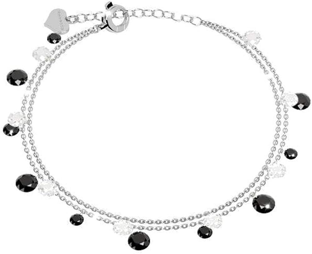 Rebecca bracciale per donna in argento 925 e pietre swarovski SLCBBM42