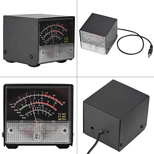 Medidores de pantalla del medidor S externo para Yaesu FT-857/FT-897,