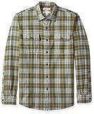 Marca Amazon – Goodthreads – Camisa de manga larga de espiga a cuadros de corte estándar para hombre,...