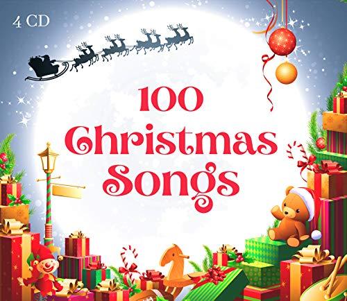 100 Christmas Songs - 4 CD - Le più belle Canzoni di Natale