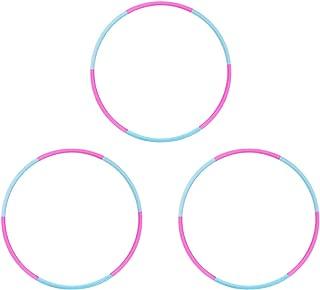 Liberry Hula Hoop for Kids Set, Detachable & Size Adjustable Design, Kids Hula Hoop,Set of 3,Set of 6