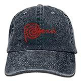 Hoswee Hombres Mujer Gorra Beisbol,Snapback Sombreros Peru Unisex Denim Baseball Cap Adjustable Snapback Hats