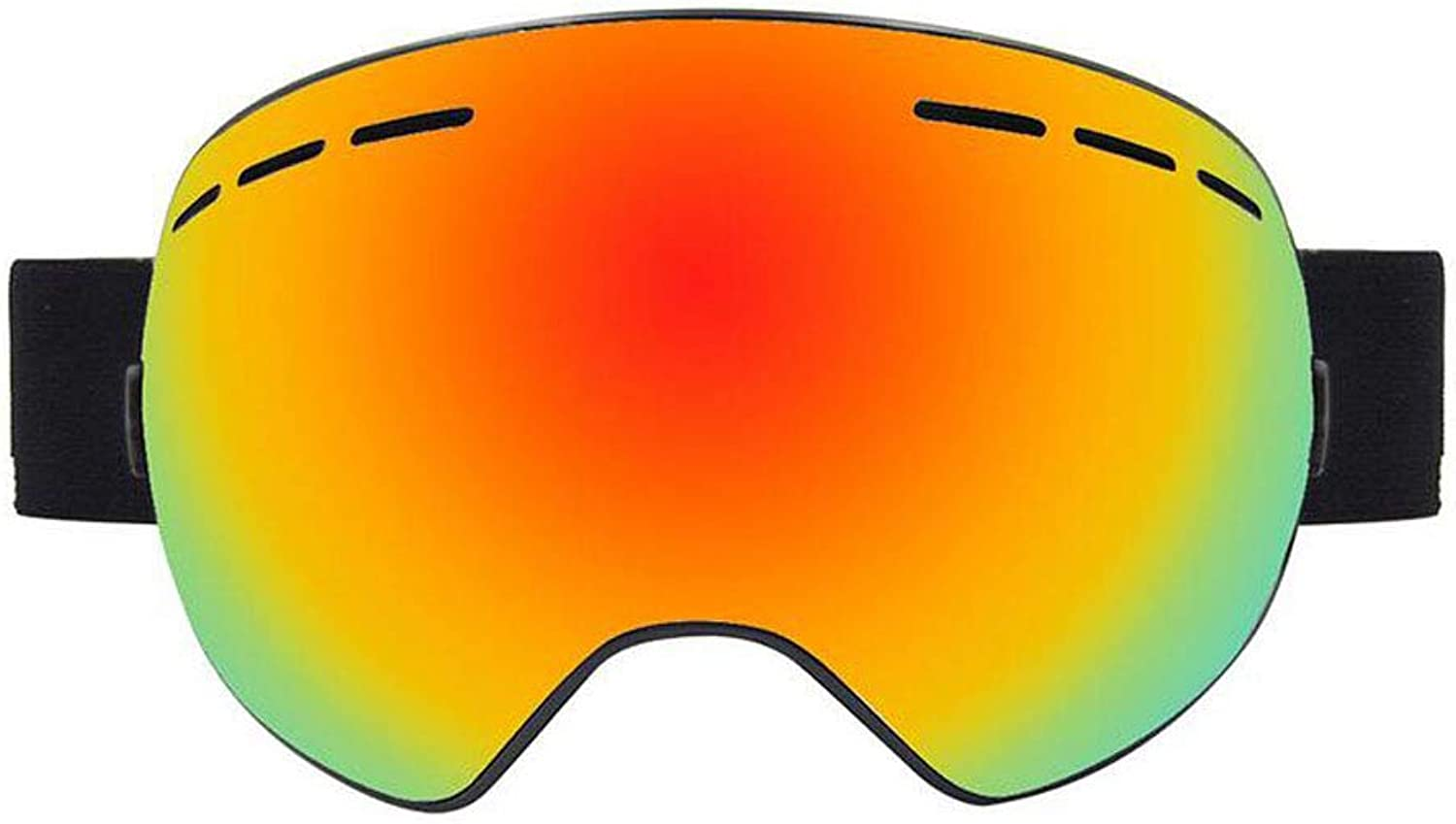 Ski Goggles, OTG Snowboard Goggles with Anti-Fog, UV400 UV Predection, Anti-Glare Ski Goggles, Suitable for Skiing, Snowboarding, Snowmobiling and Other Winter Sports (color   B)
