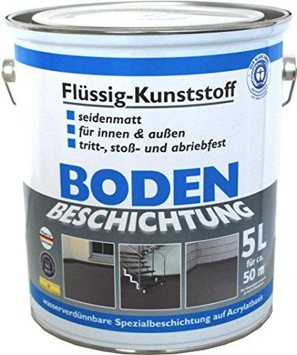 Wilckens Bodenbeschichtung - seidenmatt - 5 L - Anthrazitgrau RAL 7016