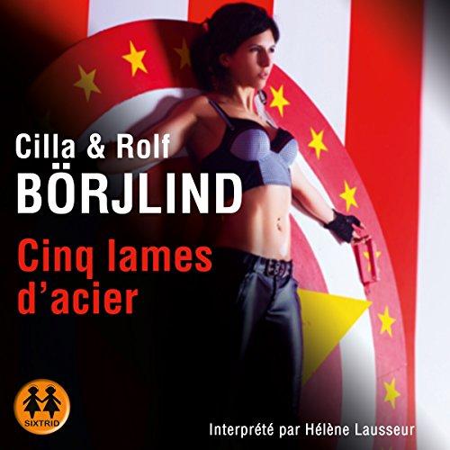 Cinq lames d'acier (Olivia Rönning 2) audiobook cover art