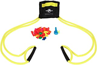 Water Sports Deluxe 3-Person Water Balloon Launcher Kit (Color May Vary)