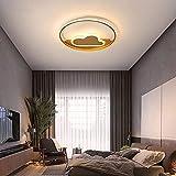 FWZJ 2020 Moderne LED-Deckenleuchte für Schlafzimmer Wohnzimmer Esszimmer Kinderzimmer Wohnkultur...