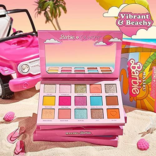 Colourpop Malibu Barbie Shadow Palette! 15 Shade Shadow Palette New in...
