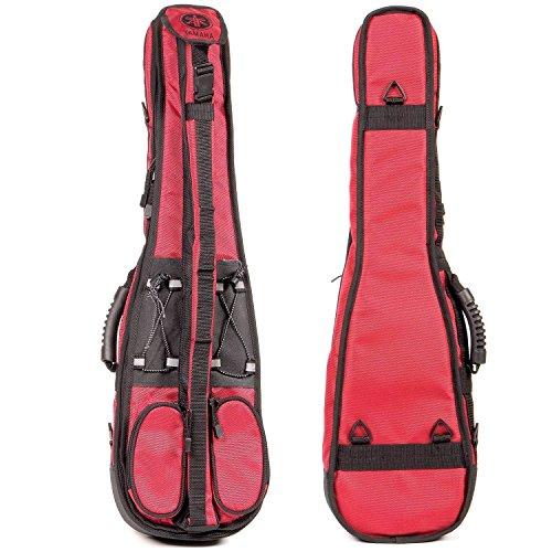 Yamaha 4/4 Violin Gig Bag - Red with Black Trim