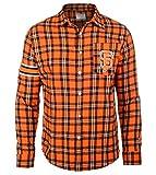 FOCO MLB SAN Francisco Giants Wordmark Basic Flannel Shirt Extra Large