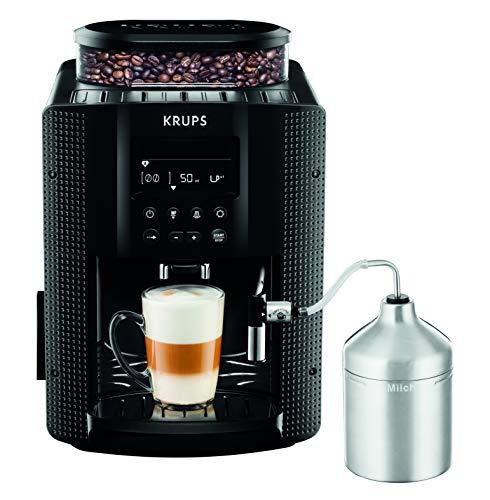 KRUPS Automatyczny ekspres do kawy 1,8 l 15 bar, system AutoCappuccino, wyświetlacz LC czarny