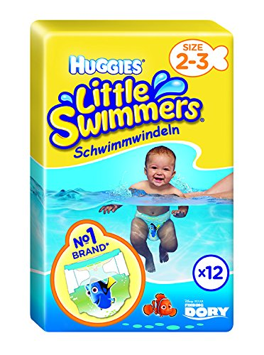 Huggies Little Swimmers Swim Nappies Size 2-3 3-8kg 12 per pack