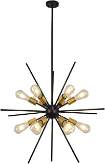 Industrial Sputnik Chandeliers 12 Lights Modern...