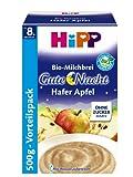 HiPP Gute-Nacht-Brei Hafer Apfel, 4er Pack (4 x 500 g) -