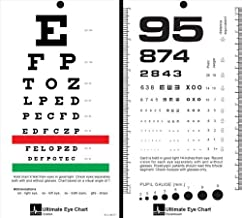 McCoy - Ultimate Rosenbaum/Snellen Pocket Eye Chart - -