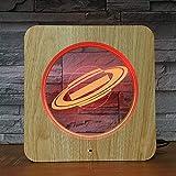 Solo 1 pezzo Saturn Planet 3D LED Lampada da tavolo in plastica a luce notturna Po Colori per bambini Regalo Decorazioni per la casa KS3