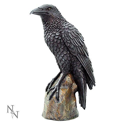 Nemesis Now Raben-Figur, 20 cm, Schwarz