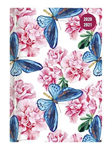 Alpha Edition Diario Agenda Scuola Collegetimer 2020/2021, Giornaliera, Formato 10x15 cm, Farfalla, 352 pagine