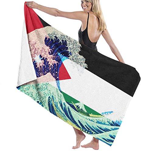 Abel Berth Toallas de Playa Jordan Flag and Wave Off