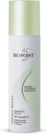 Biopoint Instant Beauty Shampoo Secco 150 ml - Deterge e Purifica i Capelli senza l'Utilizzo di Acqua, Assorbe il Sebo in Eccesso e Prolunga la Durata della Piega