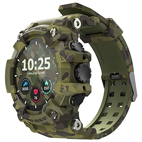 balikha Smart Watch 1.28'Relojes de Pantalla con Modos Deportivos Múltiples IP68 para Hombres Verde - Verde