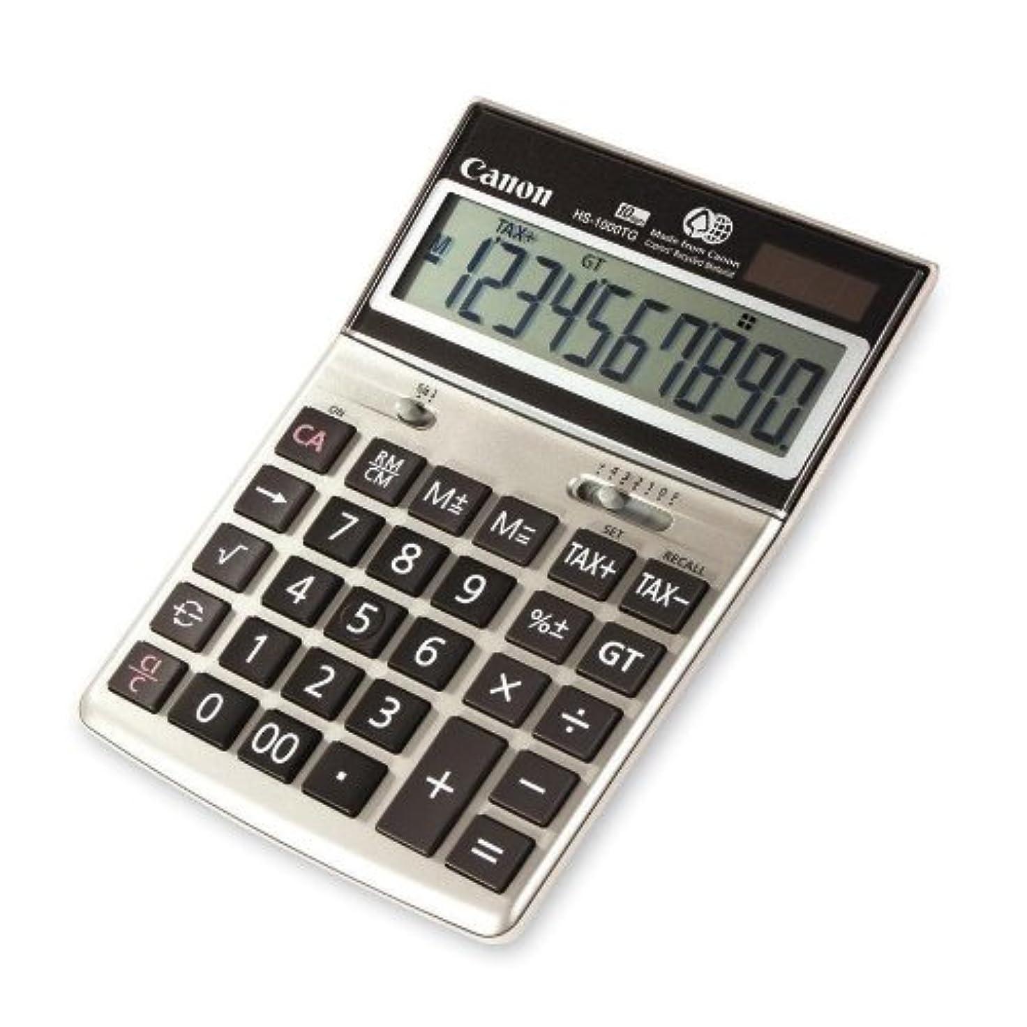 四面体新鮮な魅力10桁デスクトップ電卓、デュアル電源、6?–?3?/ 4?