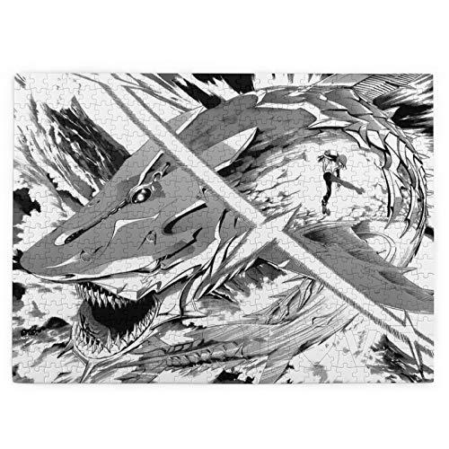 Donola Rompecabezas de 520 piezas Air Gear Fang Epic Agito Lind Akito Blade Puzzles para niños y adultos