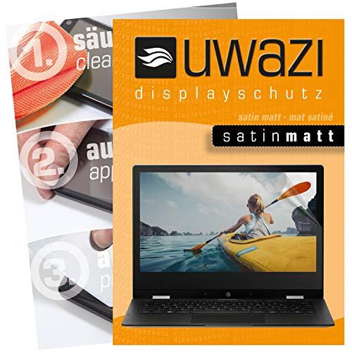 uwazi I 3X Satin-Matte Schutzfolie für Medion Akoya E3222 Bildschirmschutzfolie I Folie I Anti Fingerabdruck I Anti Kratzer
