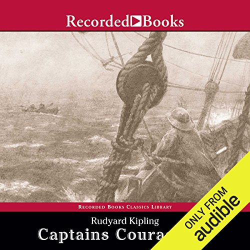 Captains Courageous audiobook cover art