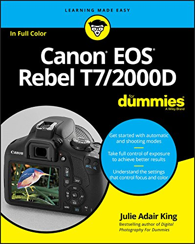 Canon EOS Rebel T7/2000D For Dummies (English Edition)