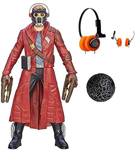 Gurdians Orb of Galaxy Star Cosplay Lord Power Stone Walkman Hi-Fi Stereo Earphone Costume Accessoriess Gift (Star Lord Same Style Hi-Fi Stereo Earphone)