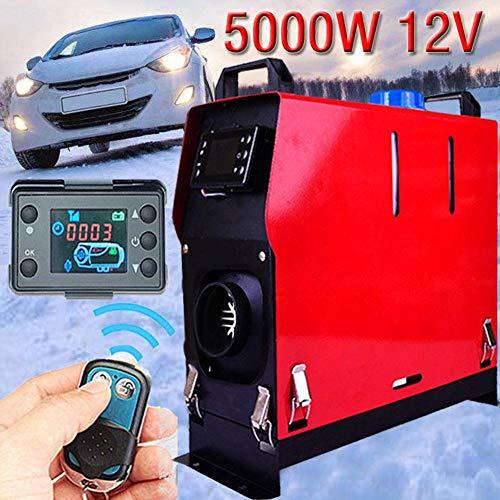 AIMERKUP Hellycuhe 12V 5000W Aire Diesel Calentador Solo Orificio Monitor LCD Calentador Control...