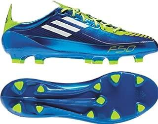 adidas F50 adizero TRX FG (Syn) US Men's 5 M (AnodizedBlue/White/Slime)