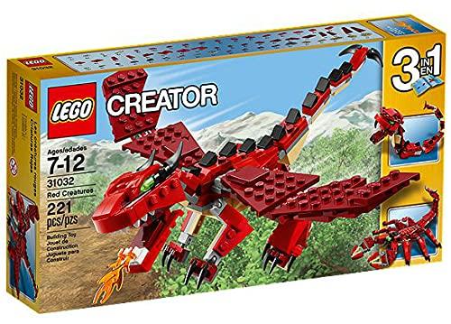 LEGO Creator 31032 - Creature di Fuoco