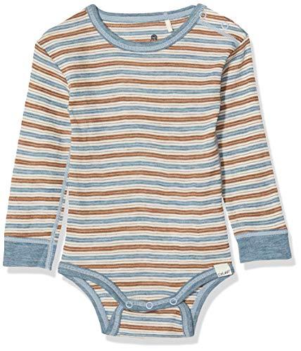 CeLaVi Body Mit Langen Ärmeln in Weicher Wolle, Bleu (Blau), 98/104 (Taille Fabricant: 100) Mixte bébé