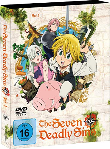 The Seven Deadly Sins - Staffel 1 - Vol.1 - [DVD]