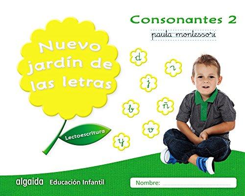 Nuevo jardín de las letras. Consonantes 2. Pauta.: Lectoescritura Pauta (Educación Infantil Algaida. Lectoescritura) - 9788490677315